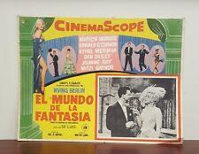 1954 CinemaScope World of Fantasy Spanish Lobby Card Marilyn Monroe