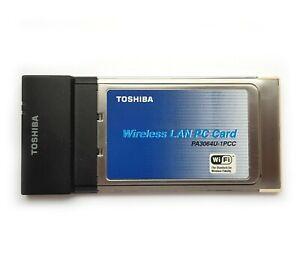 PC24E-H-FC TOSHIBA Wireless LAN PC Card PCMCIA PA3064U-1PCC Lucent Wavelan 5VOLT