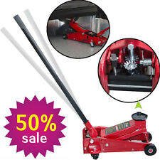 3 Ton 6000 Lb Aluminum Handle Car Auto Floor Jack Low Profile Rapid Pump Lift