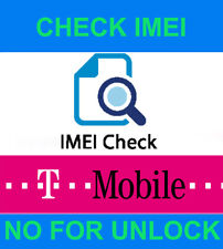 T-MOBILE IMEI CHECK REAL STATUS SAMSUNG UNBARRING