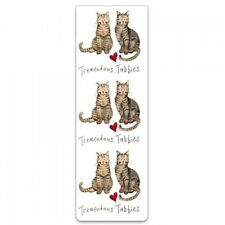 "Alex Clark Magnetic Bookmark Cat Kitten ""Tremendous Tabbies"" Great Gift Free P&P"