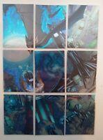 "2012 Batman the Legend ""The Batcave"" Complete 9-card Insert Set TBC1-9 Free Ship"