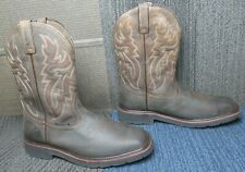 Mens Wolverine Rancher Square Toe Steel Toe Wellington Boot 13 Ew ~ Excellent