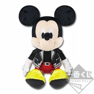 New KINGDOM HEARTS BANDAI ichiban KUJI THE KING MICKEY PLUSH TOYS Ⅲver.