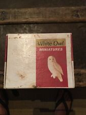 Vtg. Cigar Box - White Owl Perfecto