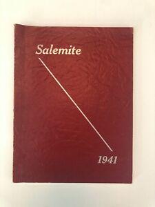 1941 Salemite Yearbook Central High School Purdys New York