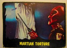 Vintage 1964 Outer Limits Topps Trading Card Bubbles Inc.  #39 Martian Torture