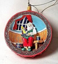 "New ""Santa'S Workshop"" Christmas Ornament From The Danbury Mint"