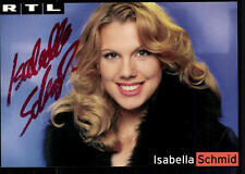 Isabella Schmid Autogrammkarte Original Signiert ## BC 24652