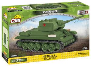 Cobi 2702 - T-34(85) Tank 1/48 scale (273pcs) Building Blocks WWII