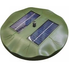 Reefe SOLAR FLOATING LILY FOUNTAIN 150Lph 1.8W+4Nozzle,Direct sunlight Operation