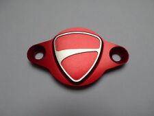 Ducati Inspektionsdeckel Logo rot eloxiert neu Monster 696 796 821