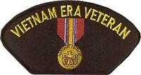 VIETNAM ERA VETERAN NATIONAL DEFENSE MILITARY EMBROIDERED PATCH