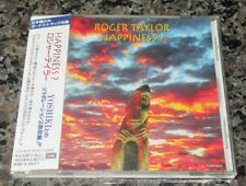 Roger Taylor of QUEEN Japan PROMO CD obi HAPPINESS? More Queen/Freddie listed