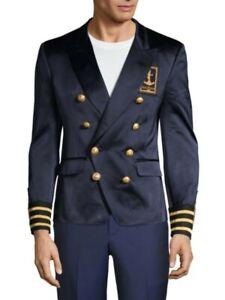 Balmain Badge Silk Jacket