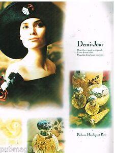 Publicité Advertising 1988 Parfum Demi-Jour par Houbigant