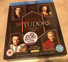 The Tudors Seasons 1 & 2 Blu-Ray BBC 6 disc Box Set in greatshape
