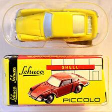 Porsche 911 Porsche Museum Stuttgart Yellow 1:90 Schuco Piccolo Special Model