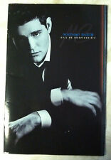 Michael Buble Call Me Irresponsible Tour Program