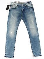 MAVI - Herren Jeans Hose - Yves - Slim Skinny Fit - Used Look - Hellblau - W34