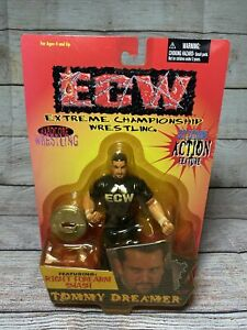 ECW Tommy Dreamer Action Figure 1999 Still Sealed Wrestling New Toy Rare