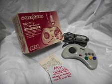 Free Shipping Boxed Untested Sega Saturn White Game Pad Controller Japan A441