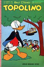 [675] TOPOLINO ed. Mondadori 1960 n.  229 stato Ottimo