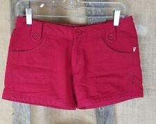O'Neill Adolescenti Taglia 3 Abito Pantaloncini Corti Cotone Rosso