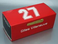 "1/43 Brumm ""27 G.VILLENEUVE"" FERRARI 126 CK TURBO 1st GP MONTE CARLO 1981"