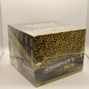 ⭐ Champions Path Pin Collection Pokemon TCG Trading Card Booster Box x6 Sealed ⭐