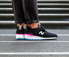 New Balance 997 Deconstructed Made In USA Mens 12 M997VB2 Black Pink Blue