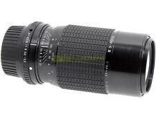 Pentax K zoom Sigma 70/210mm. f3,5-4,5. Compatibile con digitali.