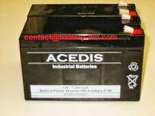 Batterie 12v pour onduleur APC Smart-Ups 450 (SU450) RBC5 AKKUSATZ