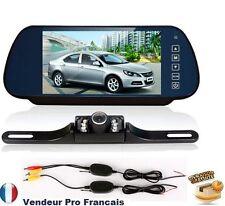 Caméra radars de recul 135°CMOS auto voiture rétroviseur + LCD moniteur 7'' TFT