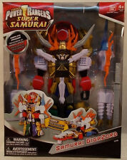 Power Rangers Super Samurai - Gigazord Megazord By Bandai (Mint In Sealed Box)