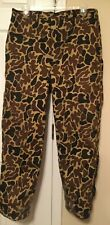 Woolrich USA Camo Hunting Pants /BIBS Size L  GORE-TEX INSULATED GREAT U.S.A