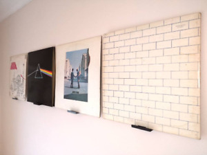 Vinyl Record Display Shelves LP CD DVD Stand Shelf Mount