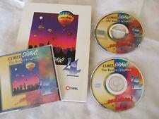 Corel Draw 4 Grafikprogramm 2 CDs Vollversion Photo-Paint 1993 Retro neuwertig