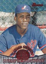 "1996 Bowman Vladimir Guerrero ""Player of the Year Candidate"" baseball card"