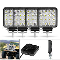 4PC LED Work Light 4in Lamp Bar Pods Fog Spot Driving Offroad ATV 4WD Truck SUV