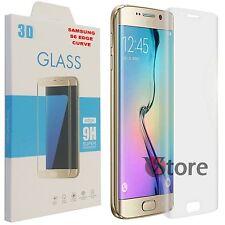 """Pellicola In Vetro Curvo Per S6 Edge G925F Samsung Galaxy Trasparente LCD 5,1"""""""