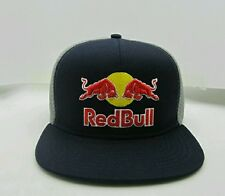 Red Bull Flex Fit Hat Flat Brim