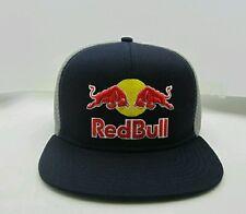 Red Bull Flex Fit Hat Flat Brim