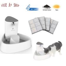 1.8 L Pet Water Fountain Dog Cat Drinking Bowl Automatic Dispenser /4 Pcs Filter