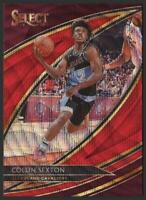 2019-20 Select COURTSIDE Prizms T-Mall RED WAVE #262 Collin Sexton Cavaliers