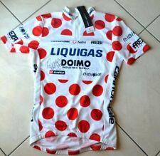 Jersey maillot pois Liquigas tour de france  signed F.Pellizzotti (no tdf merckx
