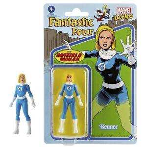 """Marvel Legends Retro Invisible Woman 3.75"""" Fantastic Four Action Figure"""