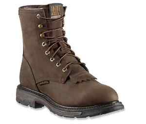 """Ariat Workhog H2O Waterproof  8"""" Lace Up Round Toe Work Boots 10011939"""
