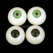 "2Prs Scare Fake Eye Eyeballs Horror Halloween Mask Skull Prop 2 Color 1.2"""