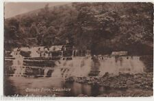 Catrake Force, Swaledale Postcard, B526